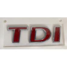 logo znak VW T6 nápis TDI zadní červené T6