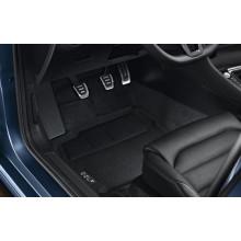koberce VW Golf 7 látkové textilní Optimat černé sada přední a zadní