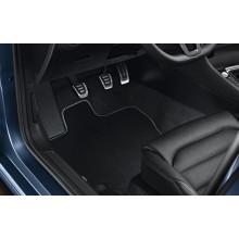 koberce VW Golf 7 látkové textilní Premium černé sada přední a zadní