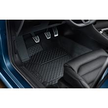 koberce VW Golf 7 gumové černé sada přední