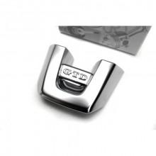 plaketa VW do volantu logo GTD - hliník