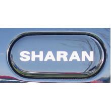logo znak VW Sharan nápis SHARAN krytka