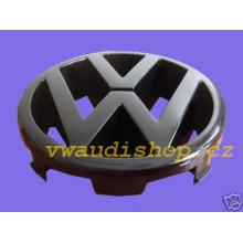 logo znak VW Golf 3 nápis VW do přední masky černé