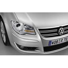mřížka s chrom lištou R-Line VW Touran - prostřední