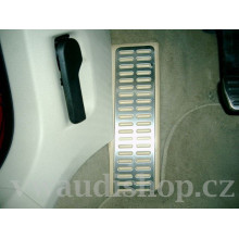 nášlap VW Golf 5 Golf 6 Scirocco verze GTI aluminium biege béžová barva