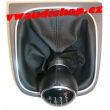 řadička VW volič VW Golf 5 černá černá nit
