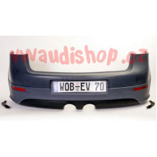 nárazník VW Golf 5 R32 spodní díl a spoiler EU formát SPZ