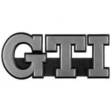 logo znak VW Golf 2 nápis GTI chrom přední maska