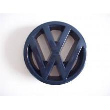 logo znak VW Golf 2 nápis VW do masky přední černý