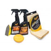 Meguiars Heavy Duty Leather Care Kit kompletní sada na čištění a ochranu kožených povrchů