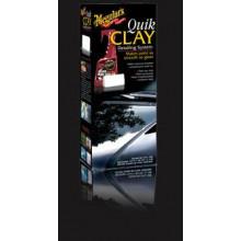 Meguiars Quik Clay Starter Kit - základní sada pro dekontaminaci laku