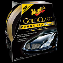 Meguiars Gold Class Carnauba Plus Premium Paste Wax tuhý vosk s obsahem přírodní karnauby 311 g