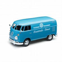 1:24 VW Type 2 T1 Modellauto Bulli hellblau nápis Ersatzteile Dienst