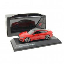 1:43 Audi RS7 Sportback Tangorot RS 7 Rot červená barva
