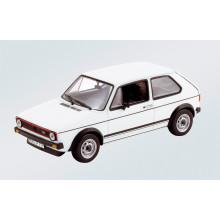 1:43 VW Golf GTI 1976 bílá barva