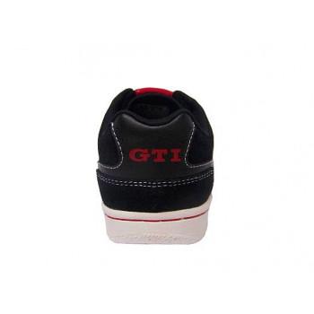 boty VW GTI tenisky kožené kárované unisex černé