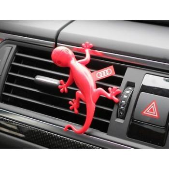 osvěžovač vzduchu Audi gecko gekon červený - vůně květin květinová