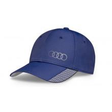 čepice kšiltovka Audi baseball premium modrá unisex