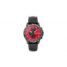 hodinky Audi Chronograph Audi Sport rot/schwarz
