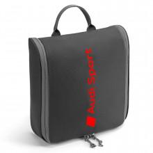 taška Audi toaletní cestovní taška taštička Audi Sport pro potřeby hygieny sprchování