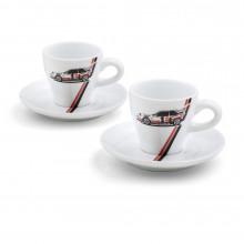 espresso hrníčky Audi Heritage sada