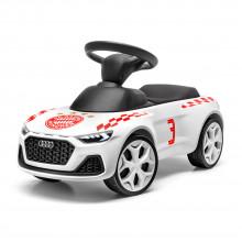 odrážedlo Audi Junior Quattro FC Bayern Mnichov München svítící bílé