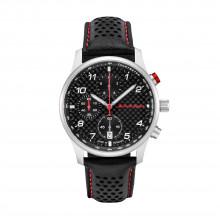 hodinky Audi Sport Chronograph Carbon pánské schwarz/silber