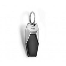 přívěsek klíčenka Audi kožená logo A8