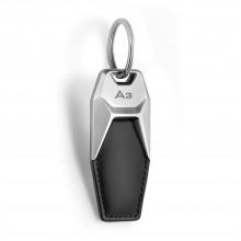 přívěsek klíčenka Audi kožená logo A3