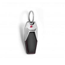 přívěsek klíčenka Audi kožená logo S