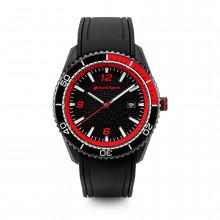 hodinky Audi černé s nápisem Audi Sport