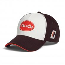 čepice kšiltovka Audi Heritage hnědá
