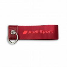 přívěsek klíčenka Audi červená nápis Audi Sport