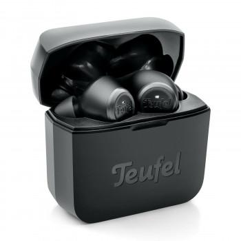 sluchátka Audi černé pecky Teufel Wireless bezdrátové nápis Audi Sport