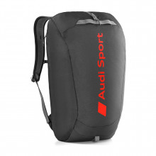 batoh Audi červené logo Audi Sport Rucksack Travel cestovní taška