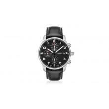 hodinky Audi černé logo kruhy Audi pánské