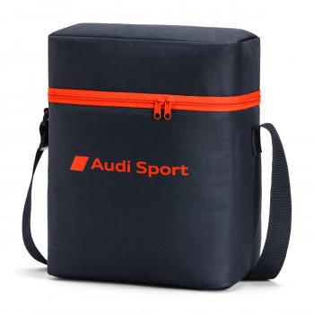 taška Audi s nápisem Audi Sport chladící tmavě šedá červená