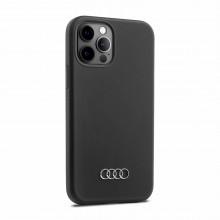 kryt Audi na telefon iPhone 12 / 12Pro vzhled logo Audi kruhy 3D