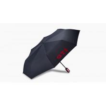 deštník VW GTI skládací černý s nápisem