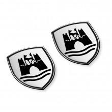 logo znak VW Wolfsburg plaketa nalepovací