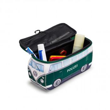 taška VW toaletní VW Bulli T1 Polizei auto Neopren zelená