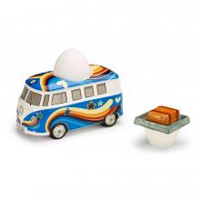 držák kalíšek pohárek na vajíčka VW Bulli T1 Hippie design keramika edice Heritage