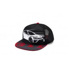 čepice kšiltovka VW GTI černá s logem Golf 7