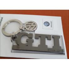 klíčenka přívěsek VW GTI černý stříbrný a logo VW