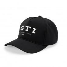 čepice kšiltovka VW GTI Volkswagen logo GTI souřadnice černá barva