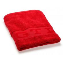osuška ručník VW GTI Volkswagen červená červený logo GTI vyšité