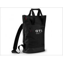 batoh VW GTI černý s nápisem Made in Volkswagen taška