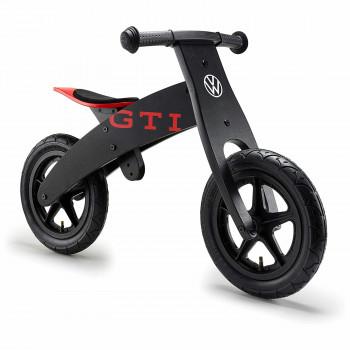 odrážedlo VW GTI balanční kolo černé s nápisem GTI