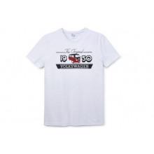 tričko VW T1 Bulli tshirt bílé pánské