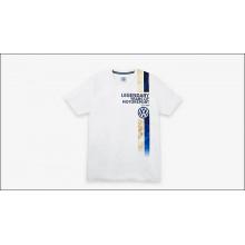 tričko VW Motorsport s nápisem Legendary years of Motorsport limitovaná serie pánské